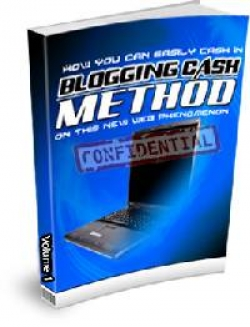 Blogging Cash Method
