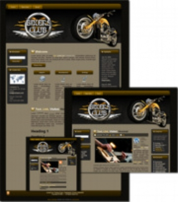 Bikers Club - WP Theme