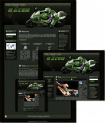 Racer - WP Theme