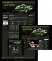 Racer - WP Theme Private Label Rights