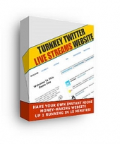 Turnkey Twitter Live Streams Website Private Label Rights