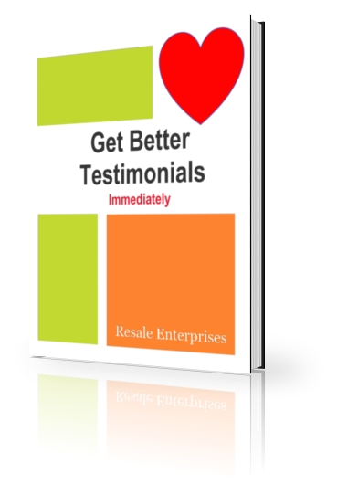 Get Better Testimonials Immediately
