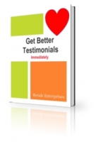 Get Better Testimonials Immediately Private Label Rights