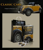 Classic Cars Minisite Private Label Rights