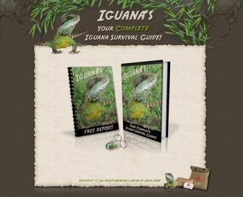 Iguana Survival - Minisite