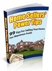 Home Sellers' Power Tips Private Label Rights