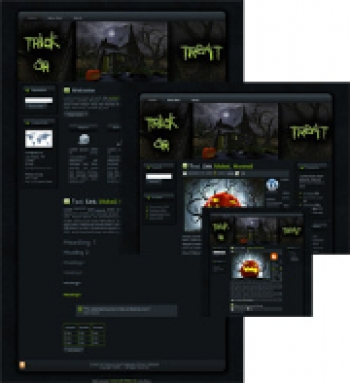 Halloween Witches House WP Theme