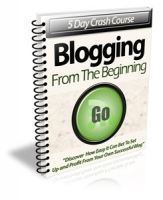 Blogging From The Beginning Private Label Rights