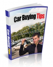 Car Buying Tips Private Label Rights