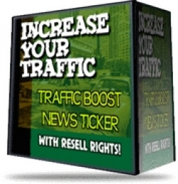Traffic Boost News Ticker