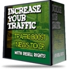 Traffic Boost News Ticker Private Label Rights