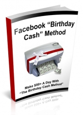 Facebook Birthday Cash Private Label Rights