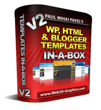 WP, HTML And Blogger Templates In-A-Box V2