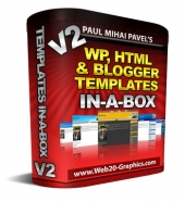 WP, HTML And Blogger Templates In-A-Box V2 Private Label Rights