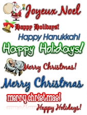 Holiday Clipart Collection Private Label Rights
