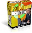 Page Brand Generator Private Label Rights