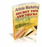 Article Marketing Secret Tips And Tricks Private Label Rights