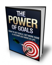 The Power Of Goals Private Label Rights