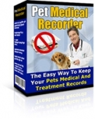 Pet Medical Recorder Private Label Rights