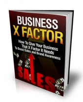 Business X Factor Private Label Rights