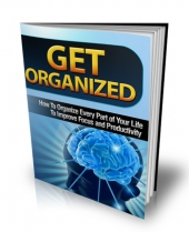 Get Organized Private Label Rights