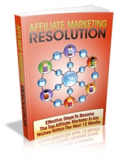 Affiliate Marketing Resolution Private Label Rights