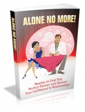 Alone No More! Private Label Rights