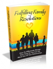 Fulfilling Family Resolutions Private Label Rights