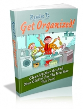 Resolve To Get Organized! Private Label Rights