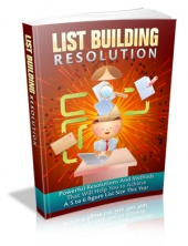 List Building Resolution Private Label Rights