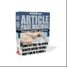 Article Page Machine Private Label Rights