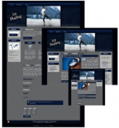 Ice Skating - WP Theme Private Label Rights