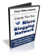 Micro Blogging Network Private Label Rights