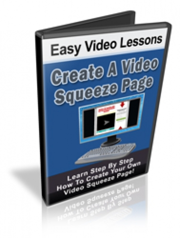 Create A Video Squeeze Page