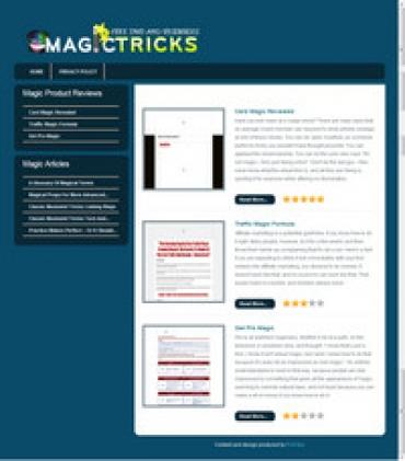 Magic Tricks Review Site