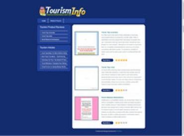 Tourism Review Site