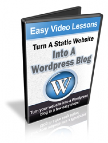 Turn A Static Website Into A Wordpress Blog