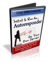 Install & Run An Autoresponder On Your Own Server Private Label Rights
