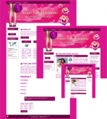 Hearts-N-Boxes - WP Theme