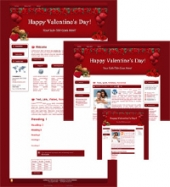 Hearts-N-Roses - WP Theme Private Label Rights