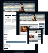 On the Beach 03 - WP Theme Private Label Rights