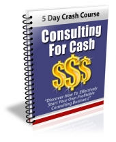Consulting For Cash Private Label Rights