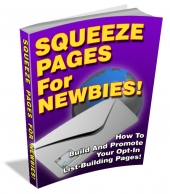 Squeeze Pages For Newbies Private Label Rights
