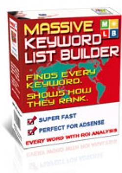 Massive Keyword List Builder