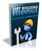 List Building Essentials Private Label Rights