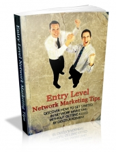 Entry Level Network Marketing Tips Private Label Rights