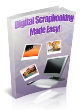 Digital Scrapbooking Made Easy Private Label Rights