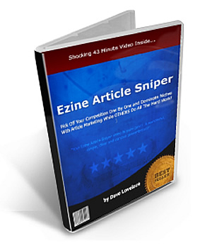 Ezine Article Sniper