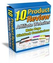 10 Product Review Affiliate Websites Private Label Rights