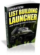 List Building Launcher Private Label Rights